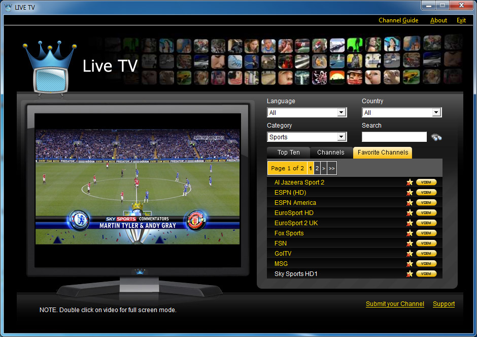 Design of LiveTV - Online Video Streaming Management System