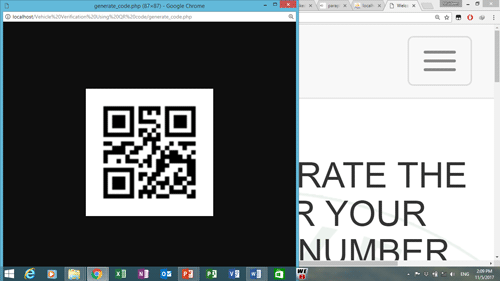 Design and implementation of vehicle verification system using QR code - CodeMint Mint for Sale