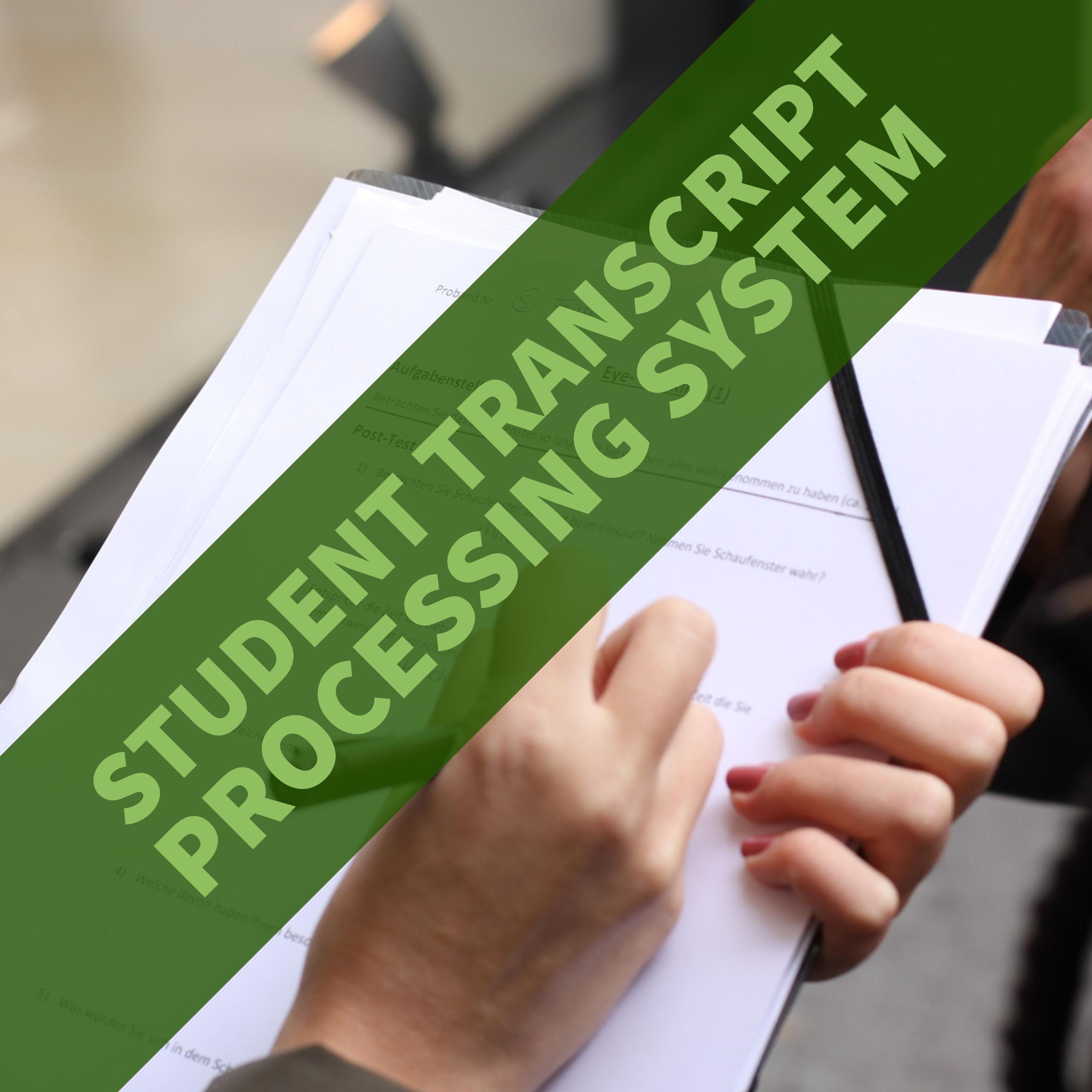 Student Transcript Processing System - CodeMint Mint for Sale